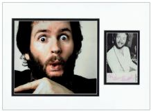 Kenny Everett Autograph Signed Photo Display